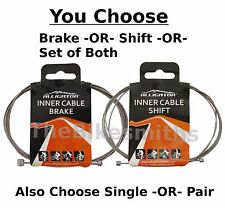Alligator Gear Shift or Brake Cable Slick Stainless Steel Wire Bike fits Shimano