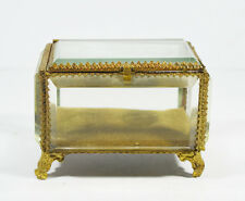 ANTIQUES FRENCH POCKET WATCH STAND FRANCE BOX JEWELRY