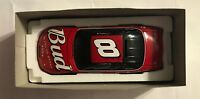 2001 ACTION #8 DALE EARNHARDT,JR. BUDWEISER 1:24TH SCALE BANK - 2088 MADE  #3072