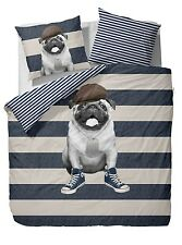 MOPSBETTWÄSCHE Covers & Co. WHAT'S UP DOG? - PUG DUVET COVER SET What's up Dog?