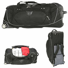 Reisetasche Trolley Big Bag XXL 92 Tauchtrolley Reisetrolley Schwarz 3457NY+TSA
