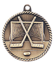 Lot of 20 Hockey Medals w/Ribbon-Low Shipping #M53