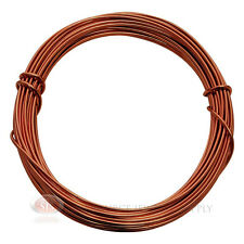 39 Ft Rose Gold Aluminum Craft Wire 12 Gauge Jewelry Making Beading Wrapping