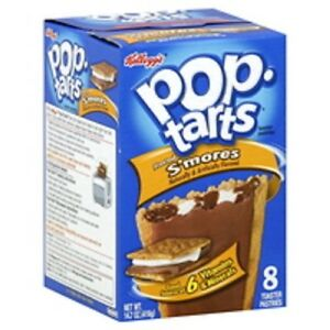 Kellogg's Pop Tarts S'mores Toaster Pastries 416g