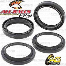 All Balls Fork Oil & Dust Seals Kit For Kawasaki KX 250 1988 88 Motocross Enduro