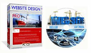 Web Site Design Suite Web Builder CSS HTML Editor + Bonus Desktop Publisher PC