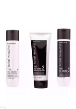 Matrix Repair Re-Bond Total Results Kit Shampoo, Conditioner, Pre-Conditioner,