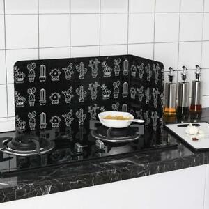 Folding Kitchen Cooking Oil Splash Screen Cover Stove Splatter Anti C9F7