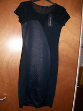 FCUK French Connection @ ASOS Bodycon Navy Blue Maia Sexy Party Dress Size 10