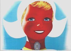 Original vintage poster BENSDORP CACAO DUTCH GIRL 1956