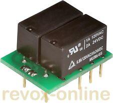 Relè ITT a2610 a2626 RICAMBIO RELÈ DI RICAMBIO 24v 4 x per per REVOX b77 MKII Monitor