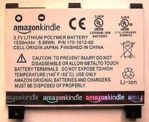 Batterie D'ORIGINE AMAZON II KINDLE CS-ABD002SL DR-A011