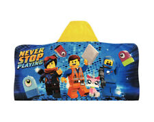 Hooded Towel Wrap w/The Lego Movie 2 Character Hero Emmet
