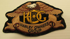 Genuine Small Heritage Eagle Patch ~ Harley Davidson Owners Group HOG H.O.G. NEW