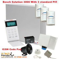 Bosch Alarm solution 3000 Kit 16 Zone System with 3 standard PIRs Icon Au Local