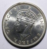 1942 Fiji One 1 Shilling - George VI - Lot 858