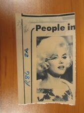 Vintage AP Wire Press Photo Actress Marilyn Monroe, Some Like it Hot, Misfits #5