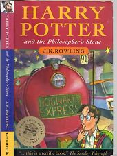 HARRY POTTER AND THE PHILOSOPHER'S STONE - J.K.ROWLING (1st/8th Ed. PB 1997)