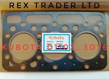 Kubota D1102, 3D76 Gasket 3 Cyl 76mm Bore Asbestos sheet L235