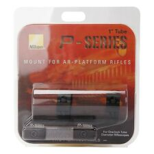 Nikon P-Series Riflescope 2 PCS Aluminum Black Picatinny Mounts for 1 Inch Tube