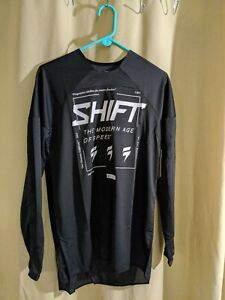 Shift White Lable Bliss Jersey Black/White Small
