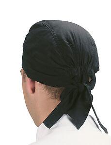 Dennys Chef's Bandana / Zandana Hat - 4 Colours - One Size Fits All - Free P&P
