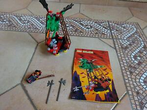 LEGO  6037 Witch's Windship    vintage château moyen âge  COMPLET +NOTICE