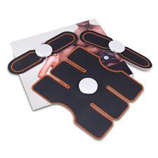 3pcs Abdominal Electrical Muscle stimulation Fitness apparatus massage belt