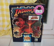 "INDIANA JONES and the FATE OF ATLANTIS IBM 3.5"" PC Game Big Box Edition"