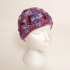 Hand Knitted Winter Woollen Crochet Beanie Hat, One Size, UNISEX CH15