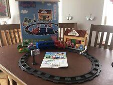 PlayBIG BLOXX Peppa Pig Train Bloques De Construcción Compatible Set Duplo Station