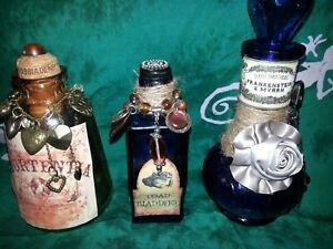 Handmade Potion Bottles