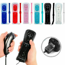 Для Nintendo Wii & Wii U пульт дистанционного управления встроенный движение плюс с металлической игра SD