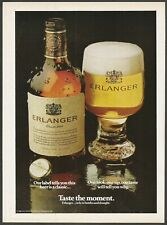 ERLANGER BEER - 1981 Vintage Print Ad