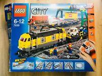 LEGO - Lego City Cargo Train Tracks - 7939 - 95% complete come in original box!