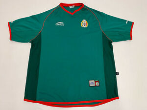 VTG 2002 world cup Mexico Soccer Atletica Sz M Jersey Futbol Federacion Mexicana