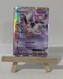 Pokemon Card MEWTWO EX 52/108 - ULTRA RARE - XY EVOLUTIONS *PACK FRESH*