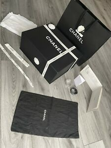 Chanel Large Magnetic Box with Large Dust Bag and Extras