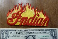 Indian Flame Motorcycle Patch Old NOS Classic Vintage Motocycle