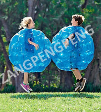 """Inflatable 35.5"""" Wearable Buddy Bumper Zorb Balls PVC Bubble Soccer (2-Pack)"""