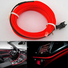Red 5MTR Interior Refit Atmosphere Car Styling EL light VOLKSWAGEN POLO