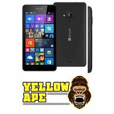 Lumia 535 nero Microsoft 8GB EE rete Smartphone UK venditore grado C