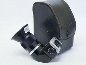 Olympus OM Vari-magni Finder for OM film System with Case. Stock No u9864