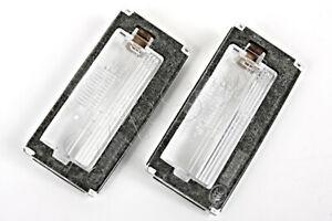 Genuine MINI Cooper S R50 R52 R53 Rear License Light Lenses 2001-2008 Left+Right