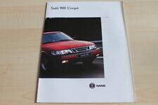 113579) Saab 900 Coupe Prospekt 01/1994