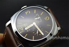Parnis 50mm Power Reserve automatic mechanical movement men's Wrist Watch