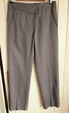 2009 Maison Martin Margiela Eased Shape  Asymmetric Front Pinstripe Trousers I42