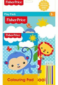 Fisher Price Childrens Colouring & Activity Play Pack Gift Xmas Stocking Filler