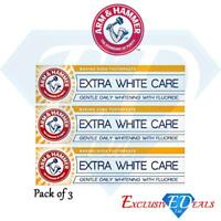 Arm & Hammer Complete Care Toothpaste Extra White Brighter Teeth Mint x 3