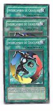 YuGiOh 3 INTERCAMBIO DE CRIATURA 5DS2-SP027 x3 EN027 Español Yu-Gi-Oh!